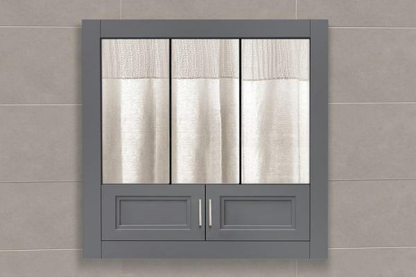 36u2033W Stratton Tri View Medicine Cabinet