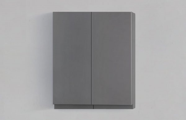 6054790 Geneva grey toilet topper