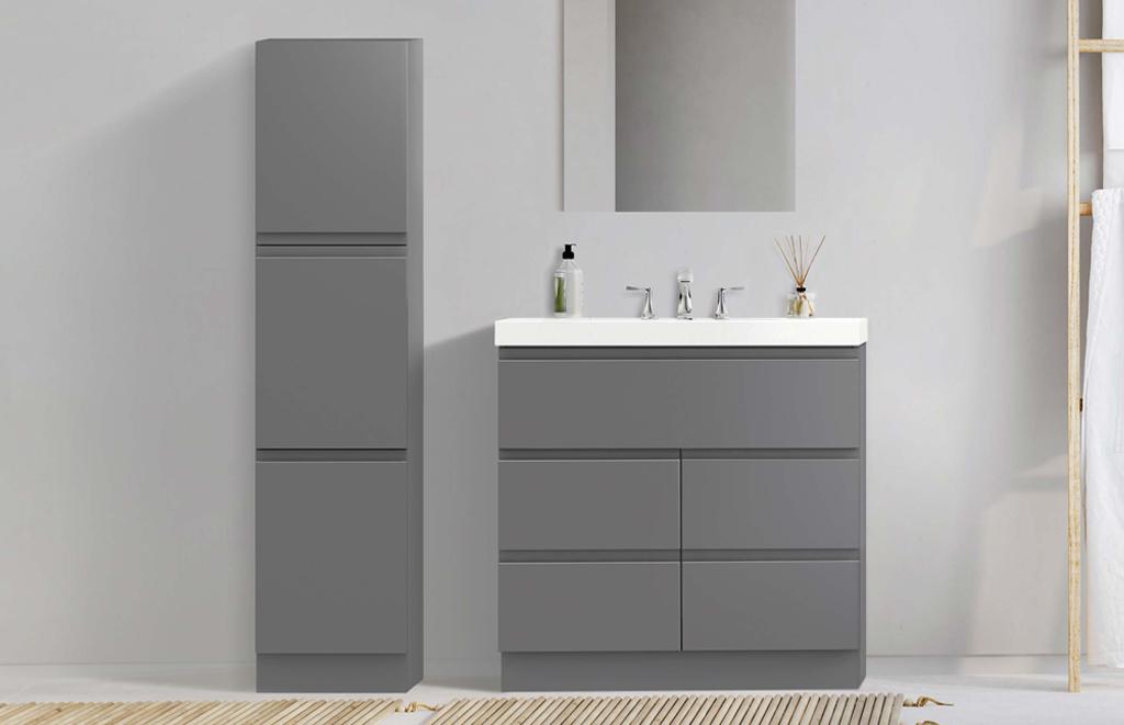 6054791-Geneva-grey-linen-cabinet-2
